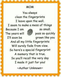 Fingerprint poem