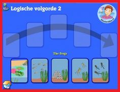 Logische volgorde met kleuters op digibord of computer, kleuteridee / logical order  game for preschoolers in IWB or computer