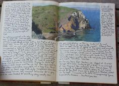 sketchbook entry - Interview with Ann Lofquist