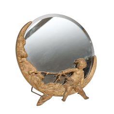 Putti on the Moon Mirror