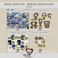 Story Series - Eskimo Adventures Kit The Eskimo Adventures is the fourth part of our Story series. Whimsical, How To Draw Hands, Challenges, Scrapbook, Kit, Adventure, Design, Events, News