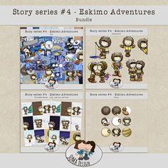 Eskimo Adventures kit by SoMa Designs. Available at Oscraps.com: http://www.oscraps.com/shop/Guest-SoMa-Designs/