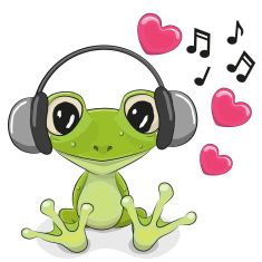 Find Cute Cartoon Frog Headphones Hearts stock images in HD and millions of other royalty-free stock photos, illustrations and vectors in the Shutterstock collection. Cartoon Cartoon, Cartoon Drawings, Funny Frogs, Cute Frogs, Frog Pictures, Cute Pictures, Animals And Pets, Cute Animals, Frog Drawing