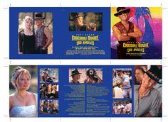 Crocodile Dundee in Los Angeles OST CD booklet spread. Client: Silva Screen Records. Circa 2001. © Sean Mowle.