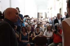 Steve McCurry at the meeting of Accademia delle Belle Arti of Perugia #McCurry #SensationalUmbria #SU14 #history #Perugia #mostra #Fotografia #Photography #exhibition #Umbria #Accademy #art