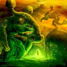 Keepers of the Green Buyon Swamp Cg Artwork, Fantasy Artwork, Photoshop, Green, Painting, Painting Art, Paintings, Fantasy Art, Painted Canvas