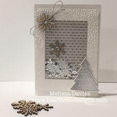 Melissa Davies: A sparkly shaker card