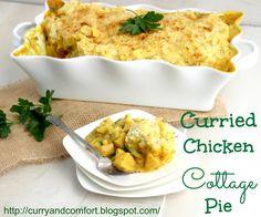 Curried Chicken Cottage Pie