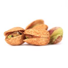 Pistachio CLOSE up! You can really see the jalapeno spices on these dry-roasted jalapeno #pistachios.