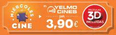 Miércoles al Cine por 3,90€   Yelmo Cines