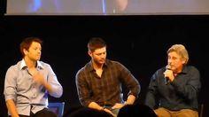 Jibcon 2015 - Jensen Saturday Afternoon Panel with bonus Misha & Bob Pt 1