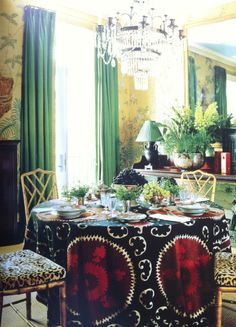 The dining room. www.assouline.com/9781614280613.html