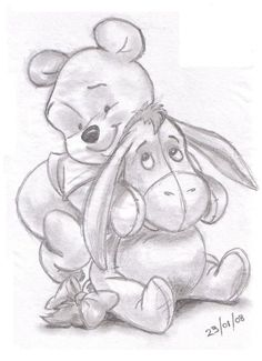Winnie the pooh and eeyore | LandN83 | Foundmyself