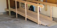 Wheelchair Ramps Built In Two Hours For Less Than 200 Dollars. DIY Kit  Video Shows How To Build A Wheelchair Ramp.
