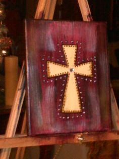 Cross I painted.