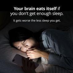 Sleep Deprivation Eats Your Brain