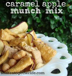 {taste this} caramel apple munch mix ... from shaken together