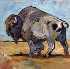 """Big Boy"" 36 x 36 acrylic on canvas: Horse Head, Horse Art, Animal Drawings, Drawing Animals, Palette Knife Painting, Glass Animals, Art For Art Sake, Wildlife Art, Art Techniques"
