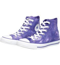df3871e672518 Converse Chuck Taylor All Star Hi Tie   Dye Canvas   Violet