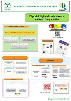 Panel 8: El portal digital de la biblioteca escolar