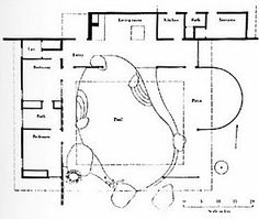 Raymond Loewy House designed by Albert Frey Raymond Loewy, John Lautner, Family House Plans, Family Houses, Palm Springs California, School Plan, Modern Architects, Hotel Pool, Concept Architecture