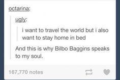 Bilbo Baggins is my spirit hobbit XD vs Baggins Bilbo, Thorin Oakenshield, Midle Earth, Funny, Hilarious, O Hobbit, Memes, Into The West, Fandoms