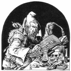 Russ Nicholson Various Wizards ( 1, 2, 3 )