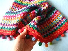 Attic 24 - how to make these teeny weeny pom pom balls ✿Teresa Restegui http://www.pinterest.com/teretegui/✿