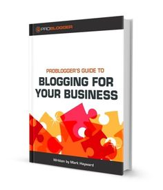 "This guide ""takes readers step by step through how to set up a blog, thinking through goals for a blog, developing a content strategy, finding readers and growing traffic, establishing and growing a social media footprint and much more."" Perfect for small businesses that want to learn to blog (or blog better). $49.99 {affiliate}"
