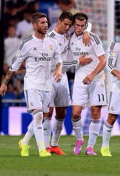 Bale, Ronaldo y Ramos