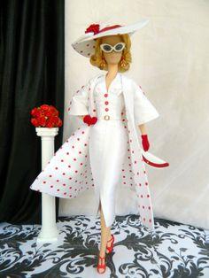OOAK 1950's Vogue fashion for Silkstone Barbie & Fashion Royalty Dolls By Joby Originals