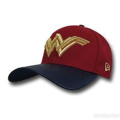 Batman Vs Superman Wonder Woman Symbol New Era 3930 Hat