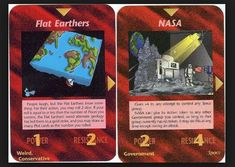 """Cards of the """"Illuminati Card Game"""" according flat earth vs. Flat Earth Facts, Flat Earth Proof, Flat Earth Conspiracy, Conspiracy Theories, Rose Croix, Nasa Lies, Getting Played, Question Everything, Pintura"""