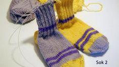 To strømper på en gang Alter, Hue, Diy And Crafts, Socks, Fashion, Moda, Fashion Styles, Sock, Stockings