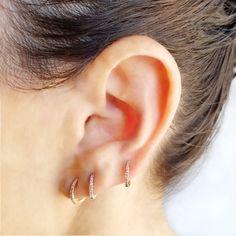 5509df7be The EarStylist Mini-Hoop Box - Designer Earrings - The EarStylist by Jo  Nayor Lobe