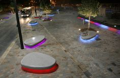 Public Realm Lighting - West Bromwich Town Centre