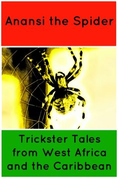 "Anansi stories from West Africa, are ""trickster"" folktales because the small spider uses his intelligence and trickiness to triumph larger creatures. Videos and book ideas! Trickster Tales, African Mythology, Fiction And Nonfiction, Stories For Kids, West Africa, Science Experiments, Story Time, Book Publishing, Storytelling"