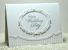 Elegant Wedding Card by labullard - Cards and Paper Crafts at Splitcoaststampers