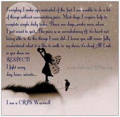 I am a CRPS warrior