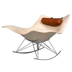 Stingray Rocking Chair by Thomas Pedersen, Denmark, 2008 | From a unique collection of antique and modern lounge chairs at http://www.1stdibs.com/furniture/seating/lounge-chairs/