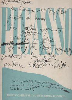 PICASSO Pablo, Picasso 1930-1935.   Paris, Editions Cahiers d'Art, 1936.