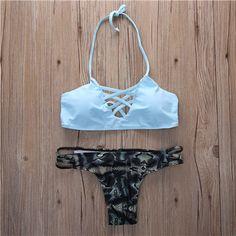 5 tipos mais novo biquíni brasileiro definir sexy swimwear mulheres bikinis 2017 praia maiô empurrar para cima do biquíni maiô biquini maillot em Conjunto biquínis de Sports & Entretenimento no AliExpress.com | Alibaba Group