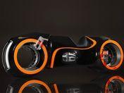 TRON LEGACY ELECTRIC HUB-LESS WHEEL MOTORCYCLE