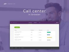 Automatic call center in browser.  Available only in czech language.