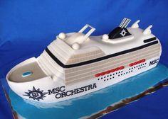 Cruise ship — Seashells /Ocean/Beach
