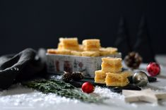 Marzipan- Walnuss- Plätzchen – Delicious dishes around my kitchen Marzipan, Tasty Dishes, Waffles, Biscuits, Dairy, Cheese, Breakfast, Advent, Food