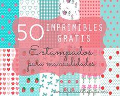 La fábrica de los peques: 50 imprimibles gratis: estampados para manualidade...