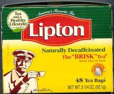 Lipton tea now