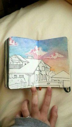 Awe-Inspiring Keep A Sketchbook Have Fun Ideas - Aquarell - Art Sketches Kunstjournal Inspiration, Sketchbook Inspiration, Sketchbook Ideas, Sketchbook Tumblr, Sketchbook Challenge, Arte 8 Bits, Arte Sketchbook, Sketch Pad, Love Sketch