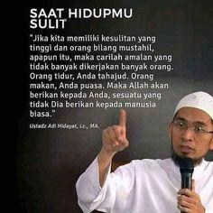Pray Quotes, Quran Quotes Inspirational, Islamic Love Quotes, Muslim Quotes, Best Quotes, Qoutes, Hijrah Islam, Doa Islam, Reminder Quotes